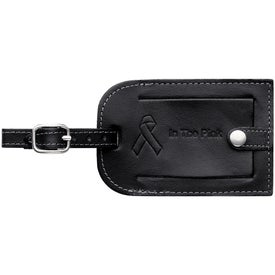 Millennium Leather Identification Tag with Your Logo