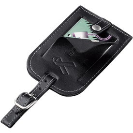 Millennium Leather Identification Tag Branded with Your Logo