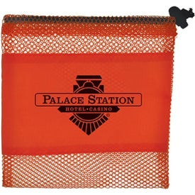 Mini Mesh Bag Printed with Your Logo