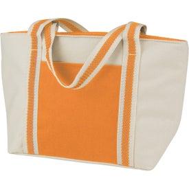 Printed Mini-Tote Lunch Bag