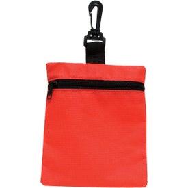 Branded Mini Zippered Non Woven Bag
