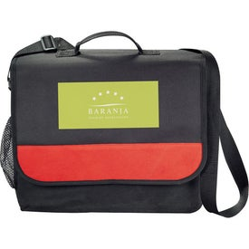 The Mission Messenger Bag Printed with Your Logo
