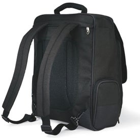 Monogrammed Momentum Computer Messenger Bag