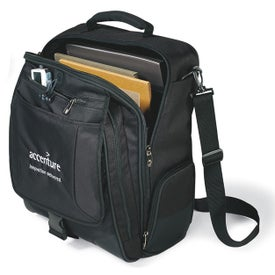 Branded Momentum Computer Messenger Bag