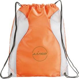 Monroe Cinch Bag for Advertising