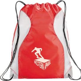 Printed Monroe Cinch Bag