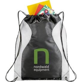 Imprinted Monroe Cinch Bag