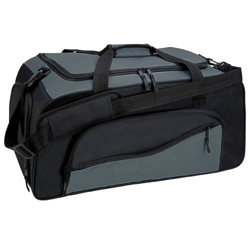 Gray / Black Montana Duffel