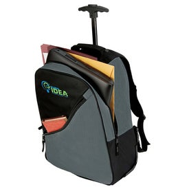 Montana Trolley Backpack with Your Slogan
