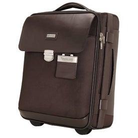 Monza Leather Twill Nylon Trolley Case