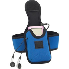 MP3/Audio Device Holder Imprinted with Your Logo