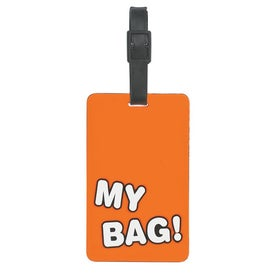 My Bag Luggage Tag Branded with Your Logo