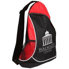 Branded Natural Curve Sling Backpack