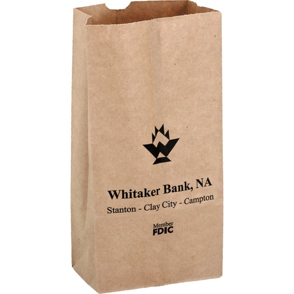 Natural Kraft Natural Kraft 2# Popcorn Bag