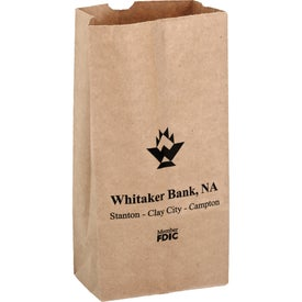 Natural Kraft 2# Popcorn Bag