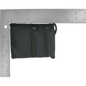 Branded Neck Wallet / Badge Holder with Neck Cord