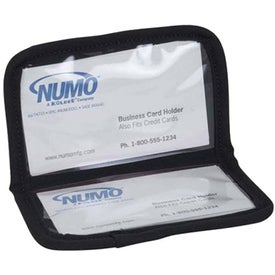 Company Neoprene Business Card Holder