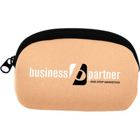 Neoprene Change Pouch for Advertising