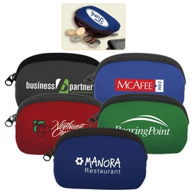 Neoprene Change Pouch Branded with Your Logo