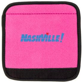 Neoprene Luggage Handle Imprinted with Your Logo