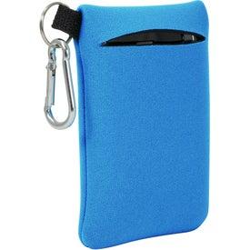 Neoprene Mobile Accessory Holder for Advertising