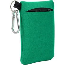 Imprinted Neoprene Mobile Accessory Holder