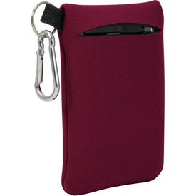 Promotional Neoprene Mobile Accessory Holder