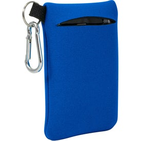 Neoprene Mobile Accessory Holder Imprinted with Your Logo