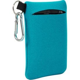Customized Neoprene Mobile Accessory Holder