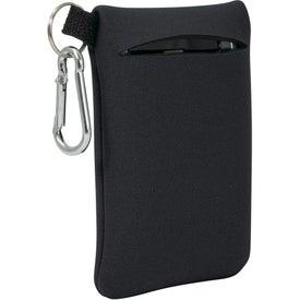 Custom Neoprene Mobile Accessory Holder