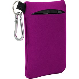 "Neoprene Mobile Accessory Holder (3.25"" x 5.125"")"