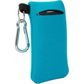 Branded Neoprene Mobile Accessory Holder
