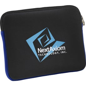 Neoprene Zippered Tablet Sleeve for Your Company
