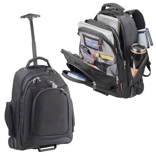 custom bags neotec rolling compu backpack