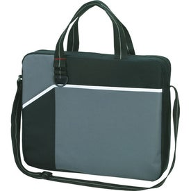 Network Briefcase/Messenger Bag with Your Slogan