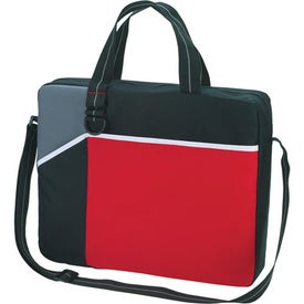 Network Briefcase/Messenger Bag Branded with Your Logo