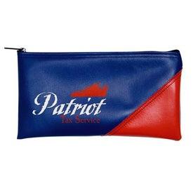 Branded New Two-Tone Horizontal Bank Bag