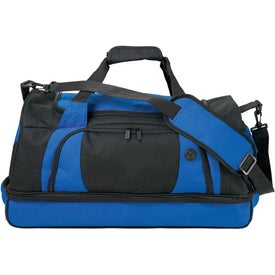 Nexus Drop-Bottom Duffel Imprinted with Your Logo