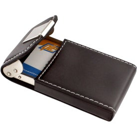 Logo Noir III Business Card Case