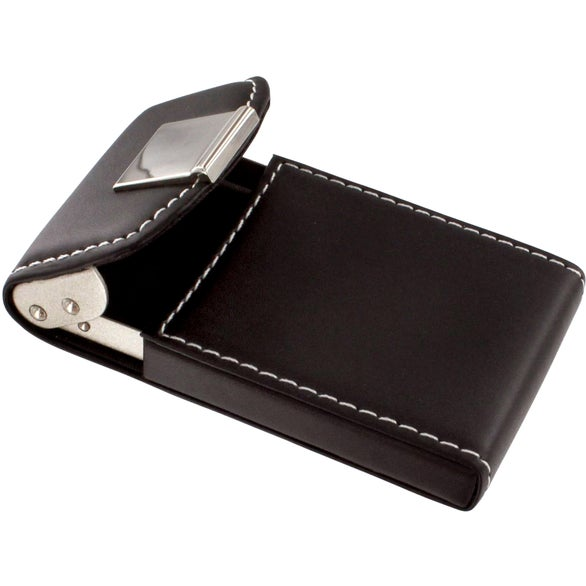 Promotional Noir III Business Card Cases with Custom Logo