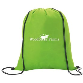 Printed Non-Woven Drawstring Backpacks