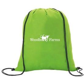 Printed Non-Woven Drawstring Backpacks