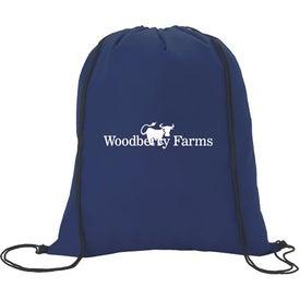 Branded Non-Woven Drawstring Backpacks