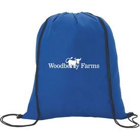 Customized Non-Woven Drawstring Backpacks