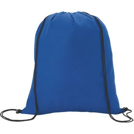 Non-Woven Drawstring Backpacks with Your Slogan