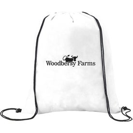 Customized Non-Woven Drawstring Backpacks
