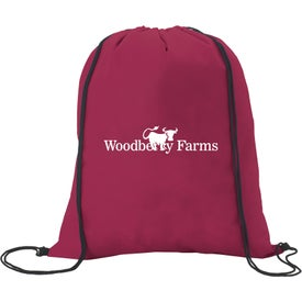 Non-Woven Drawstring Backpacks Printed with Your Logo