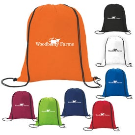 "Non-Woven Drawstring Backpack (13.5"" x 16.375"")"