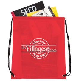 Non-Woven Drawstring Backpack Imprinted with Your Logo