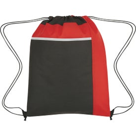 Non-Woven Drawstring Packs with Large Front Pocket